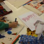 Design tote bag for kids activity at the Mill