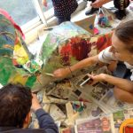Summer art activities at the Mill E17