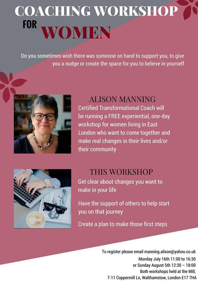 coaching workshop flyer